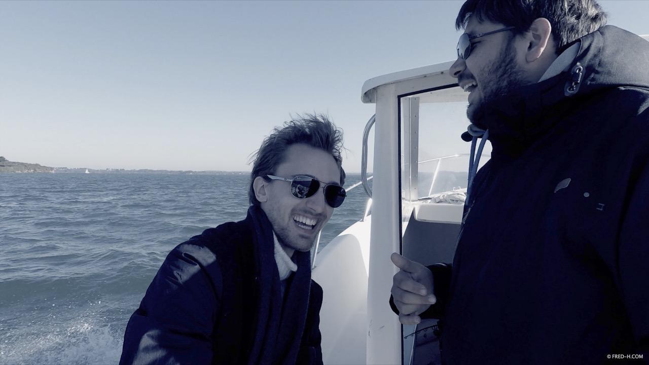 Tournage du clip Cry of Sirens dans le Morbihan - Sébastien Jego et Frédéric Haury