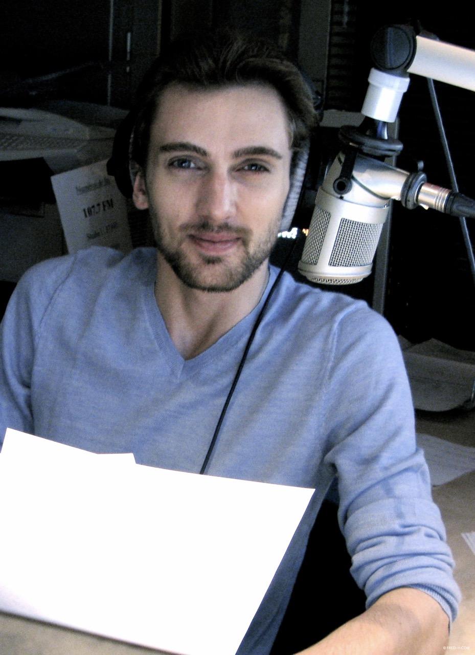 animateur radio Frédéric Haury 107.7FM