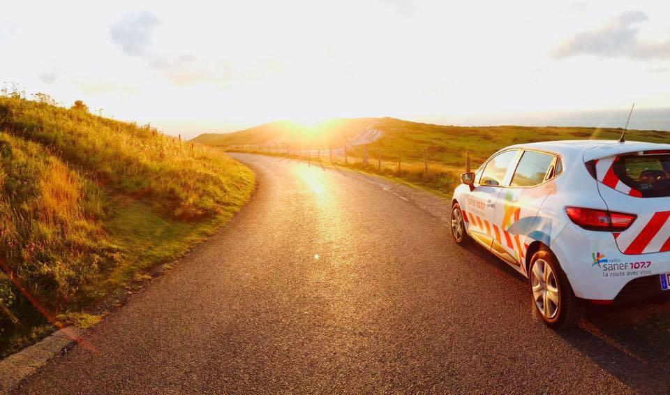 Reportage avec la voiture Sanef 107.7 - Crédits photo : Kévin Floury