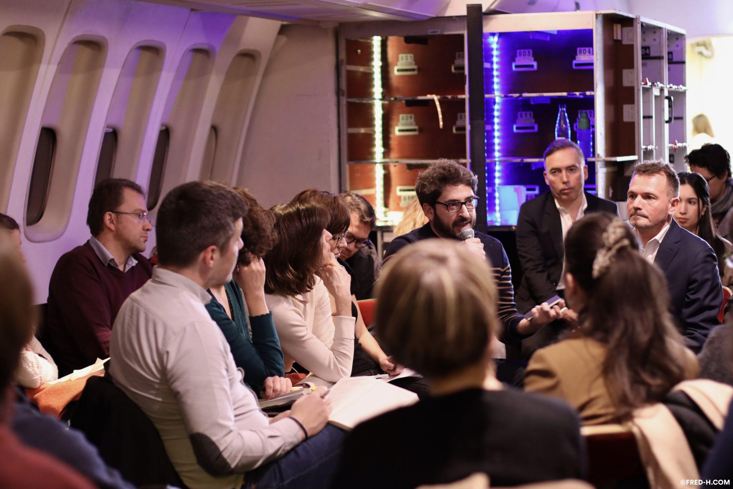 Vidéo - Conférence - Fred H - image et son - Ground Control Paris